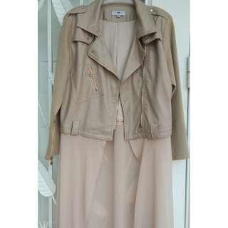 Calaqisya Leather Jacket