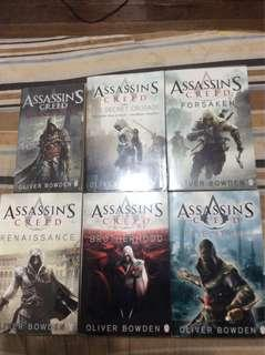 Assassin's Creed Novel Bundle (New and Used)