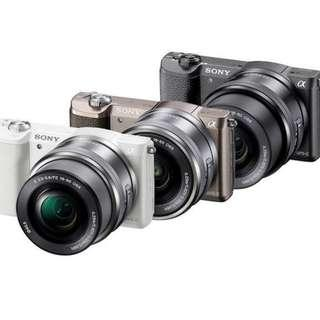SONY A5100 ILCE5100L MIRRORLESS DIGITAL CAMERA WITH LENS KIT 16-50MM