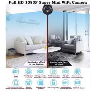 🚚 HD 1080P Super mini wifi spy portable IP camera(preorder)