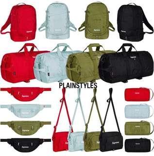 [Preorder] Week 1 Supreme SS19 Bags