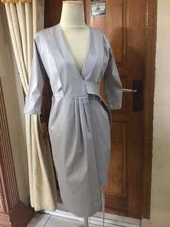 cora wrap dress