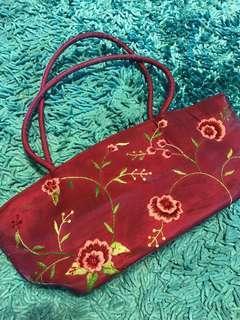 Embroidery Handbag #SparkJoyChallenge