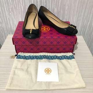 (Authentic) Tory Burch trudy 45mm wedges size 5.5 C