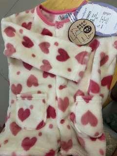 珊瑚絨睡衣