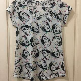 瑪麗蓮夢露 T-shirt
