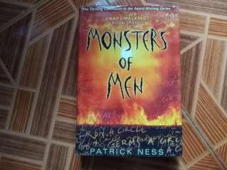 Chaos Walking Book 3: Monsters of Men by Patrick Ness HARDBOUND