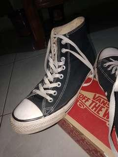 Converse High Black All Star