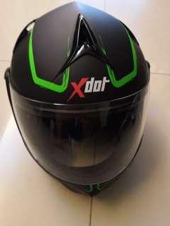 XDot fullface helmet
