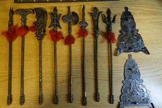 金屬裝修兵器(連架)