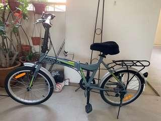 Java foldable bicycle