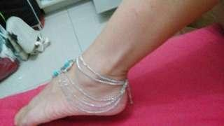 Barefoot anklet ( original price 600 now on sale)