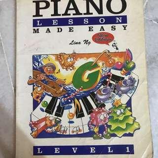 Lina Ng Piano Book Level 1