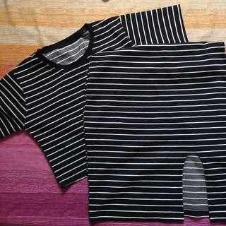Stripes terno