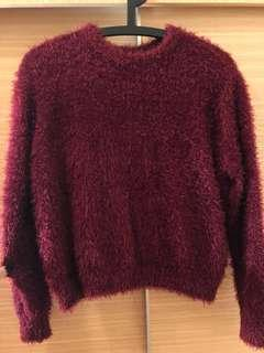 🚚 H&M海馬毛毛衣