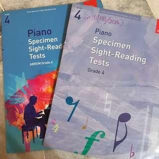 Grade 4 Piano Exam Sight-Reading