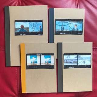 🚚 Customised BTS Muji Notebooks