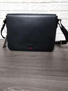 25cebb84965 Authentic Brand New Gucci men full leather sling bag