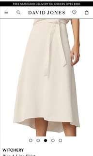 Witchery a-line bias skirt