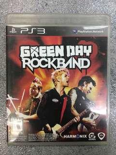 PS3 game Green Day Rockband