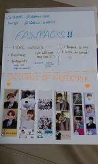 🚚 WANNA ONE/SEVENTEEN/TXT FANPACK