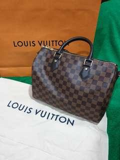 Brand New authentic LV Speedy Bandouliere 30 damier for sale