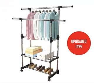 Clothing Rack Dual Pole(preorder)