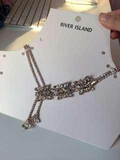 London River Island - necklace 閃石頸鏈