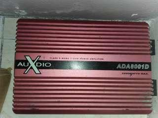 Car Amplifier monoblock