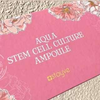 Stayve MESO Serum Aqua Stem Cell Culture Ampoules – Intense Hydrating