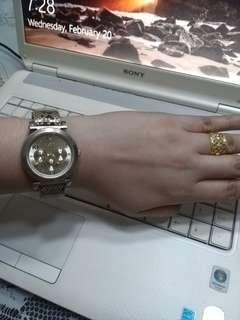 ALDO WATCH ANIMAL PRINT