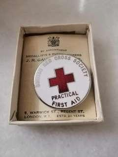 British Red Cross Society Practical First Aid Badge