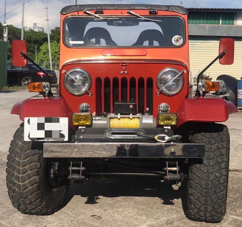 1980 三菱 Jeep