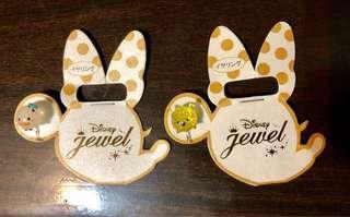 Disney 夾式耳環 唐老鴨 小熊維尼