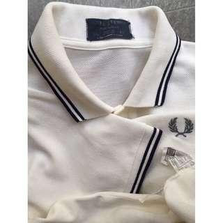 Fred Perry Sportswear Vintage Pique Polo Shirt - Snow White