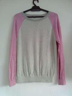 Uniqlo Knitted Sweatshirt (reduced)