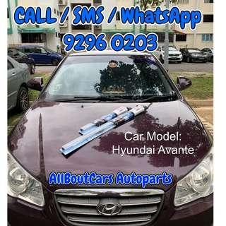 Hyundai Avante Bosch Wipers