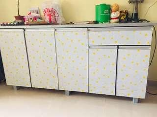 Kitchen cabinet-counter-storage
