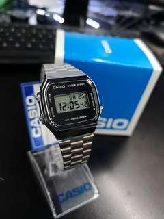 Casio Digital Vintage A168WEM-7D (100%Ori)