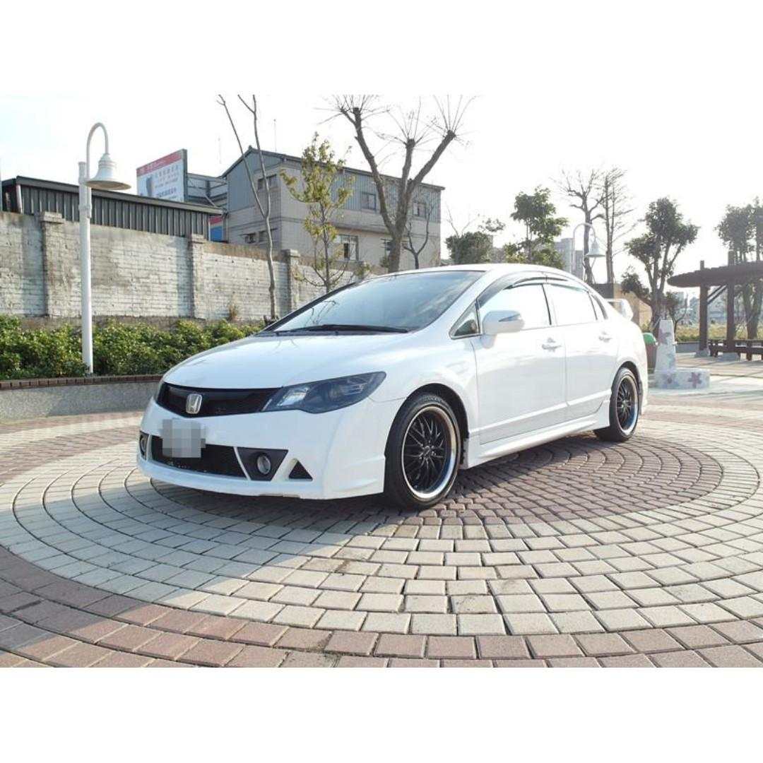 2012年-Civic-1.8白