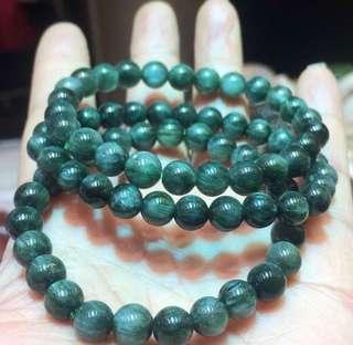 靚價11mm 順髮綠髮晶,只有一條