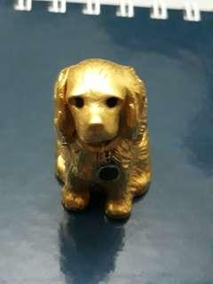 🚚 Gold Plated Miniature Dog collection