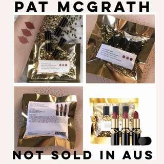 Pat McGrath Mini Mattetrance lipsticks -1995, Omi & Flesh 3