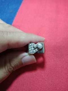 🚚 水鑽造型純銀戒