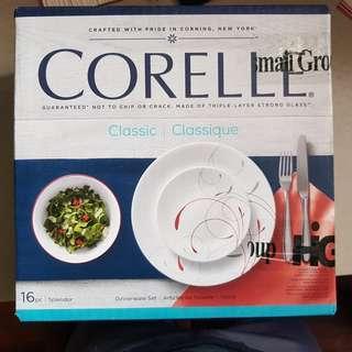 Corelle Dinnerware Set (Classic)