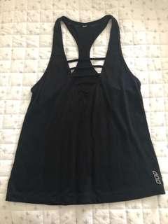 Lorna Jane black xs top