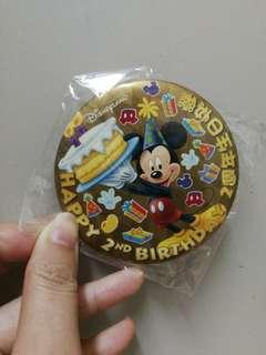 復古迪士尼生日襟章
