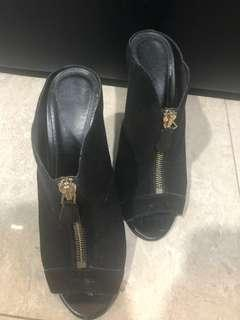 Charles and Keith Heels (Black and Red pairs)