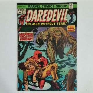 Daredevil No.114 comic