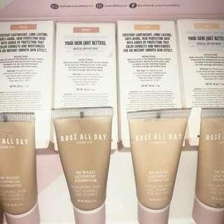 Rose All Day - The Realest Lightweight Foundation